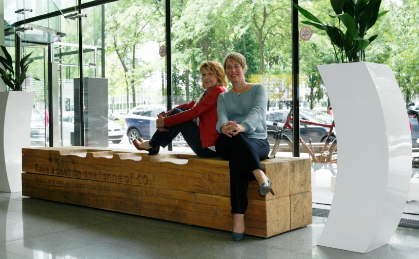 EUSTAFOR Bench Takes up Residence at the Flemish Ministry