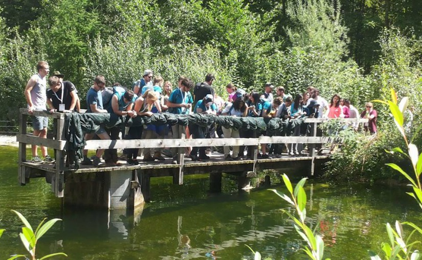 International Forestry Students Symposium (IFSS) visiting Austrian Federal Forests